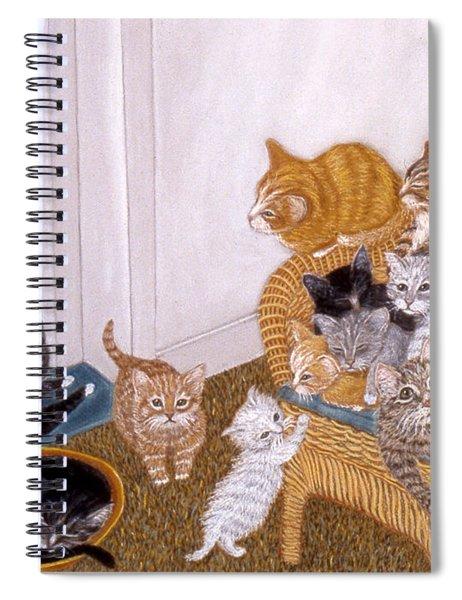Kitty Litter II Spiral Notebook