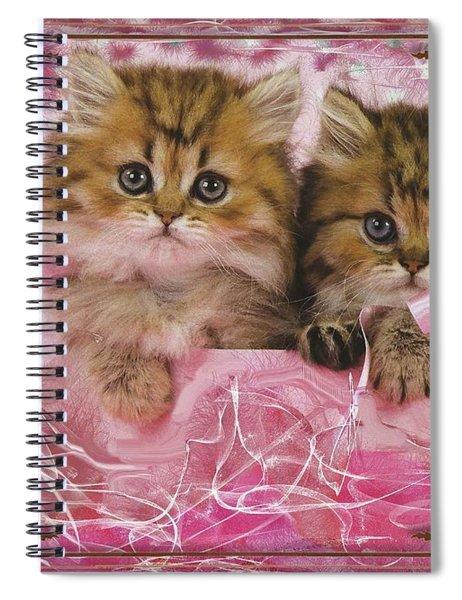Kitty Love Spiral Notebook