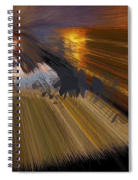 Kiwi Camel Enlightenment Spiral Notebook