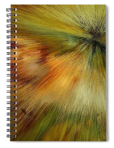 Kiwi Gold Dream Spiral Notebook