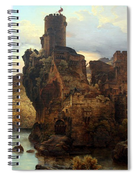 Knights Castle Spiral Notebook