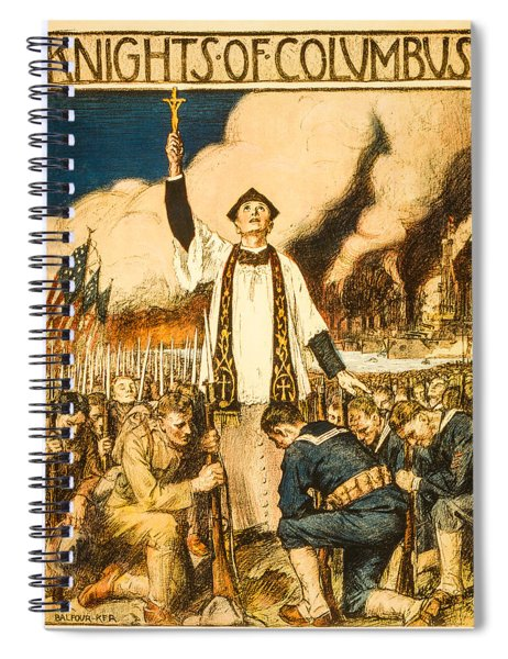 Knights Of Columbus Spiral Notebook