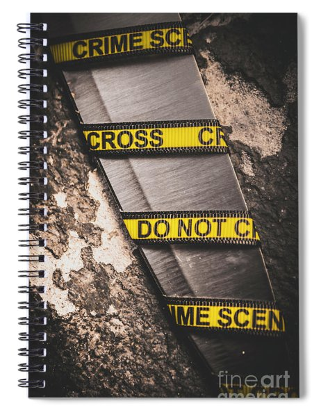 Knives And Clues Spiral Notebook