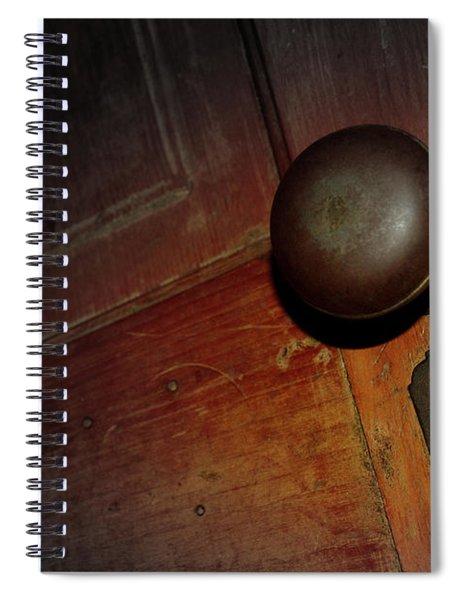 Knob Of Old Spiral Notebook
