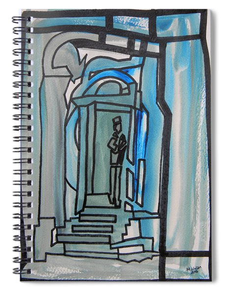 Knocking On Heaven's Door Spiral Notebook
