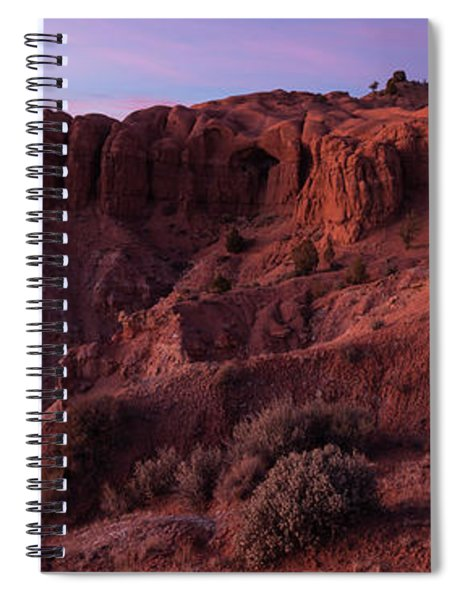 Kodachrome Basin State Park Utah Sunset Spiral Notebook