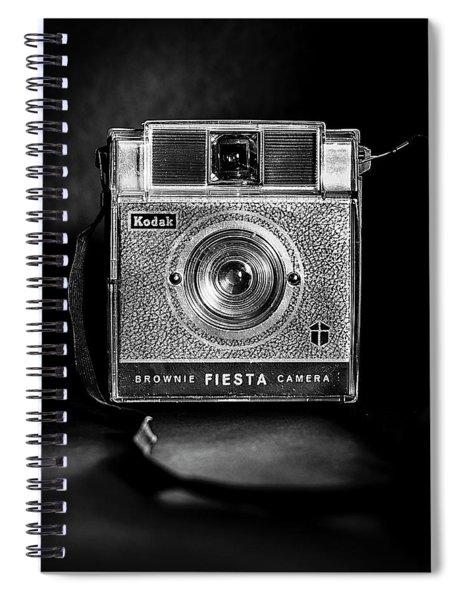 Kodak Brownie Fiesta - Square Spiral Notebook