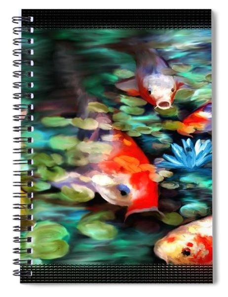 Koi Paradise Spiral Notebook