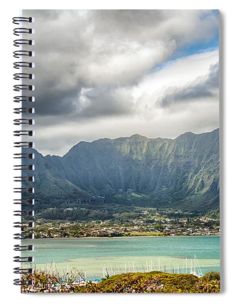 Ko'olau And H-3 In Color Spiral Notebook