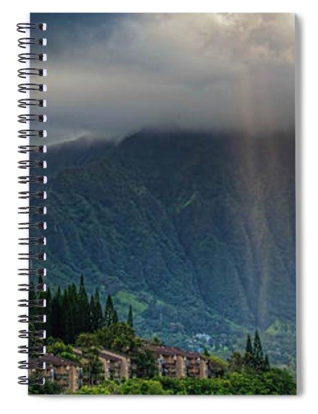 Koolau Sun Rays Spiral Notebook