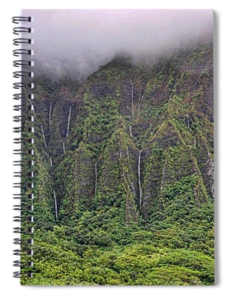 Ko'olau Waterfalls Spiral Notebook