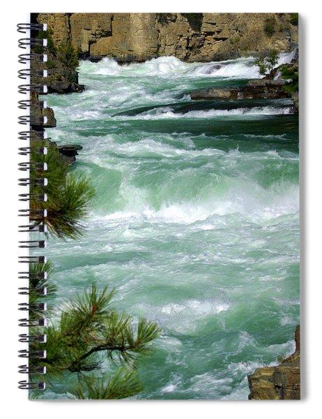Kootenai River Spiral Notebook