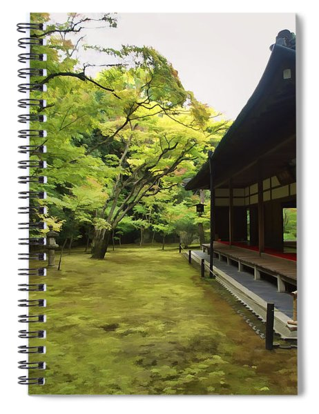 Koto-in Zen Temple Maple And Moss Garden - Kyoto Japan Spiral Notebook