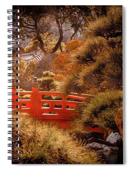 Kowloon - Red Bridge Spiral Notebook