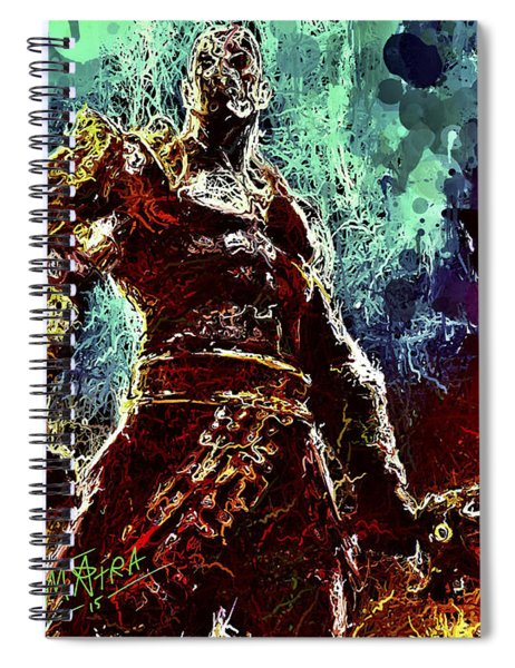 Kratos Spiral Notebook