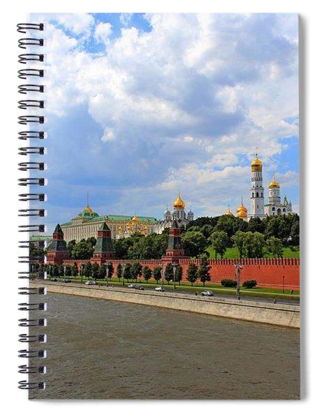 Kremlin Spiral Notebook