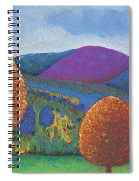 Kripalu Autumn Spiral Notebook