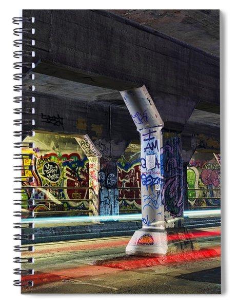 Krog Street Tunnel Spiral Notebook