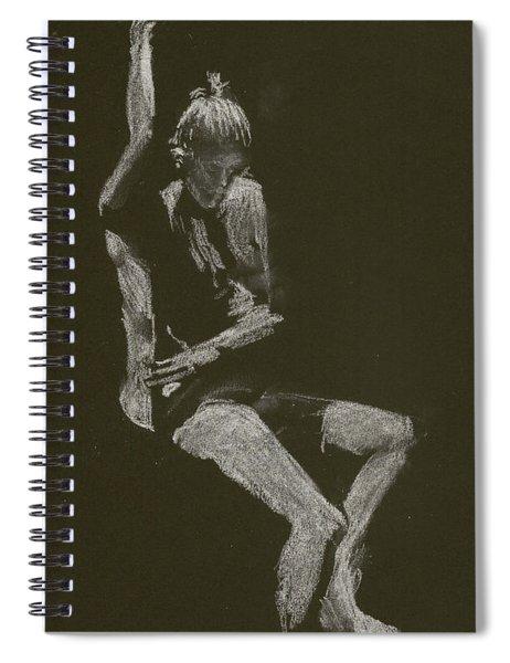 Kroki 2014 10 04_12 Figure Drawing White Chalk Spiral Notebook