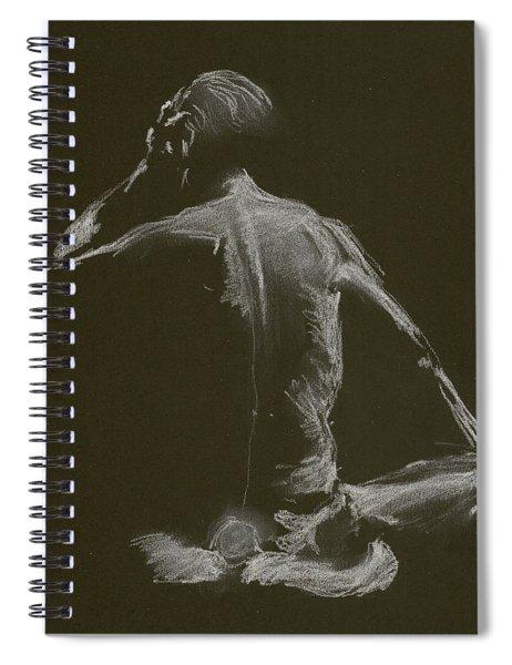 Kroki 2015 01 10_14 Figure Drawing White Chalk Spiral Notebook