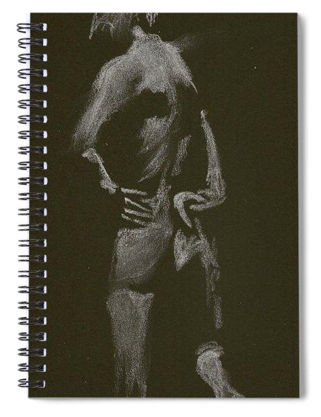 Kroki 2015 01 10_7 Figure Drawing White Chalk Spiral Notebook