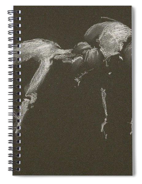 Kroki 2015 04 25 _1 Figure Drawing White Chalk Spiral Notebook