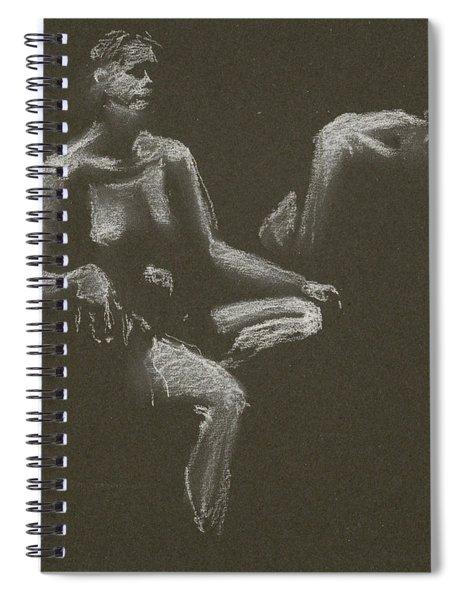Kroki 2015 04 25 _3 Figure Drawing White Chalk Spiral Notebook