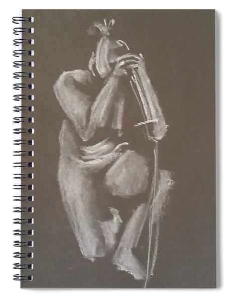 Kroki 2015 06 18_4 Figure Drawing Chinese Sword White Chalk Spiral Notebook