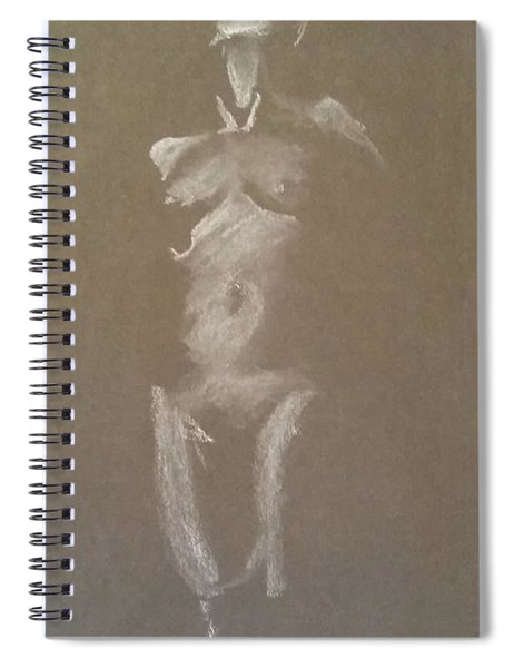 Kroki 2015 06 18_6 Figure Drawing White Chalk Spiral Notebook