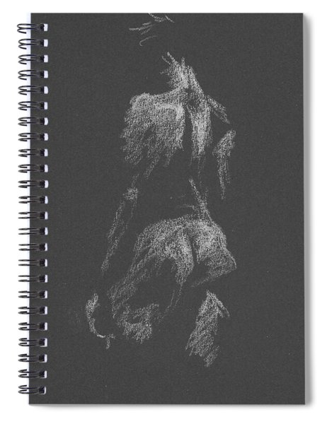 Kroki 2015 09 26 _3 Figure Drawing White Chalk Spiral Notebook