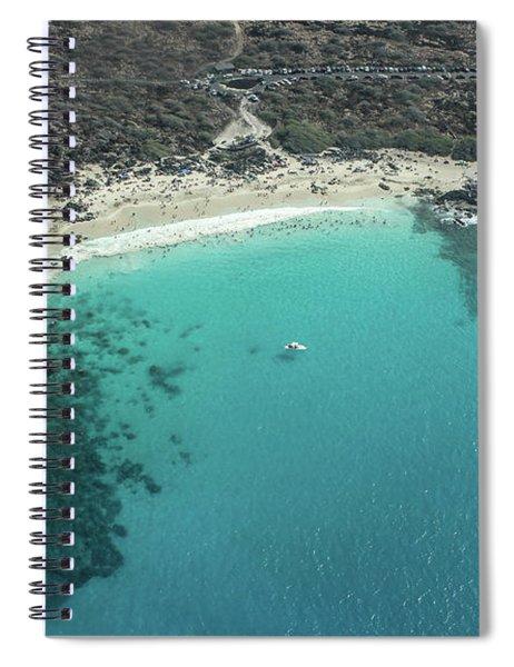 Kua Bay Aerial Spiral Notebook