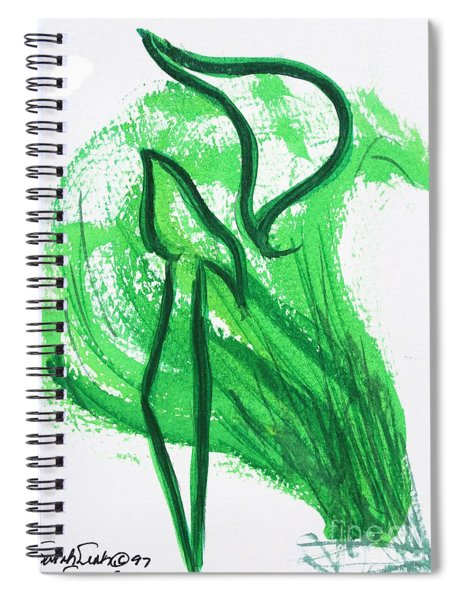 Kuf In The Reeds Spiral Notebook