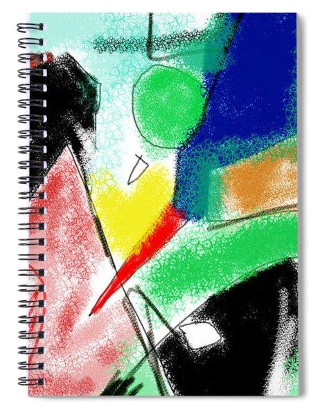 Kurtz's Domain Spiral Notebook