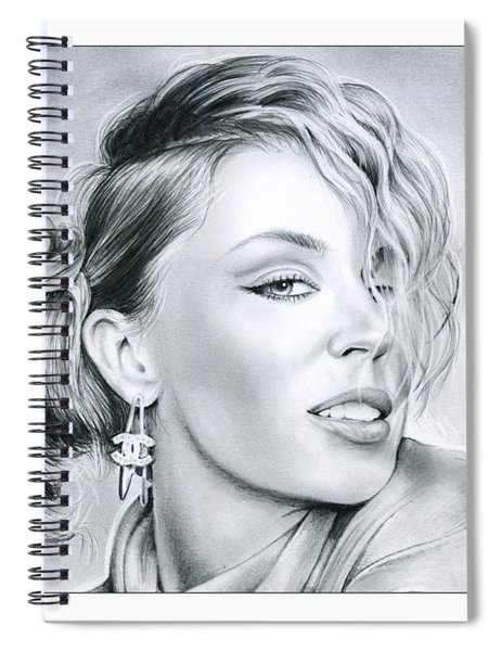 Kylie Minogue Spiral Notebook