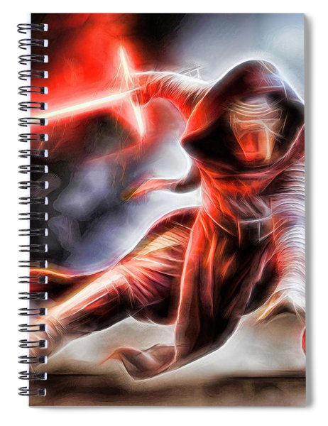 Kylo Ren I Will Fulfill Our Destiny Spiral Notebook