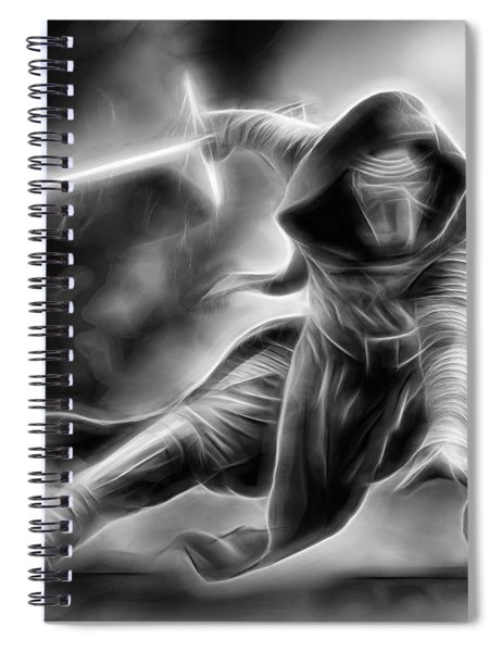 Kylo Ren Nothing Will Stand In Our Way Spiral Notebook