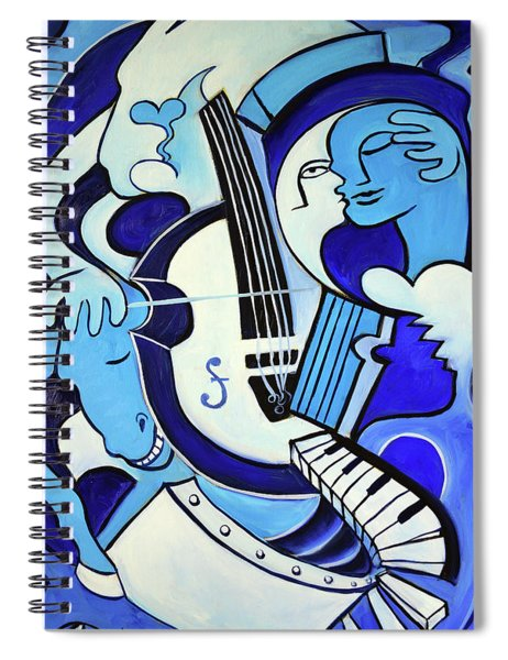L Amour Ou Quoi 2 Spiral Notebook