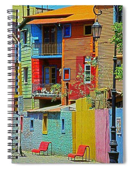 La Boca - Buenos Aires Spiral Notebook
