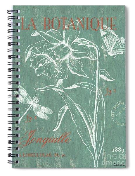 La Botanique Aqua Spiral Notebook