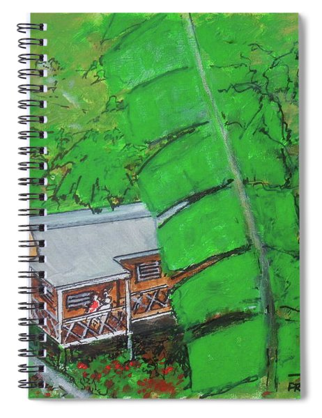 La Casa Grande Mountain Retreat Utuado Puerto Rico Spiral Notebook
