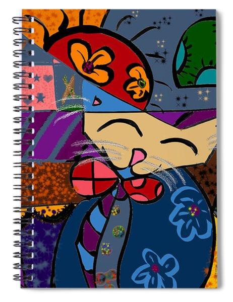 La Cat Spiral Notebook