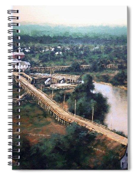 La Center Wa Circa 1915 Spiral Notebook