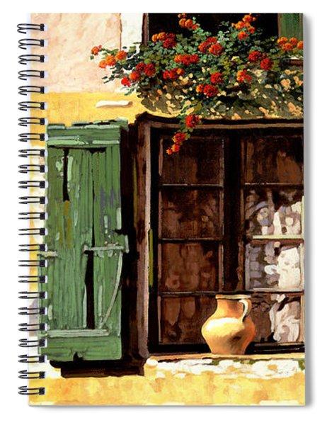 la finestra di Sue Spiral Notebook