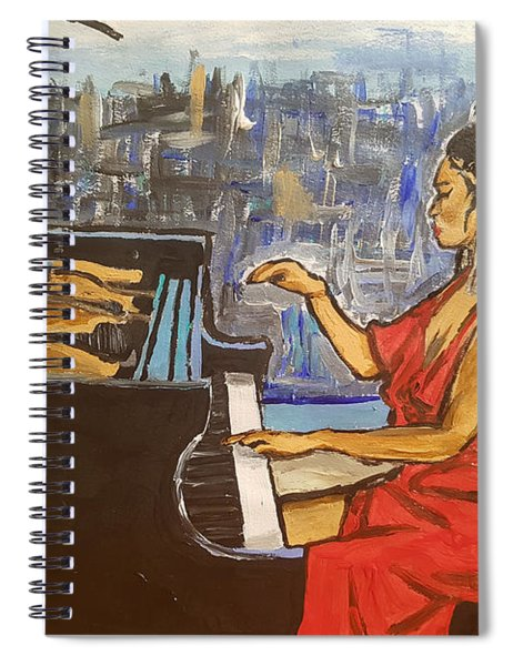La Fleur Chloe Spiral Notebook