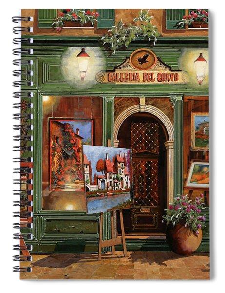 La Galleria Del Corvo Spiral Notebook