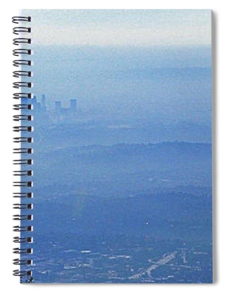 La In Smog Spiral Notebook
