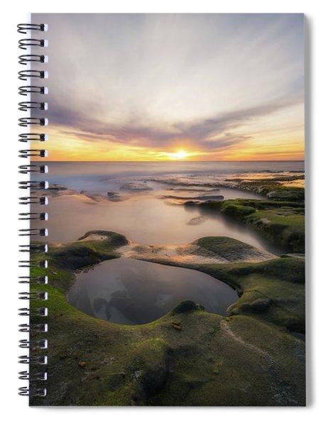 La Jolla  Spiral Notebook
