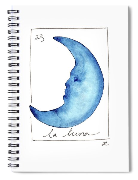 La Luna Spiral Notebook