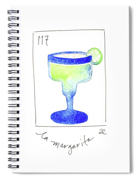 La Margarita Spiral Notebook