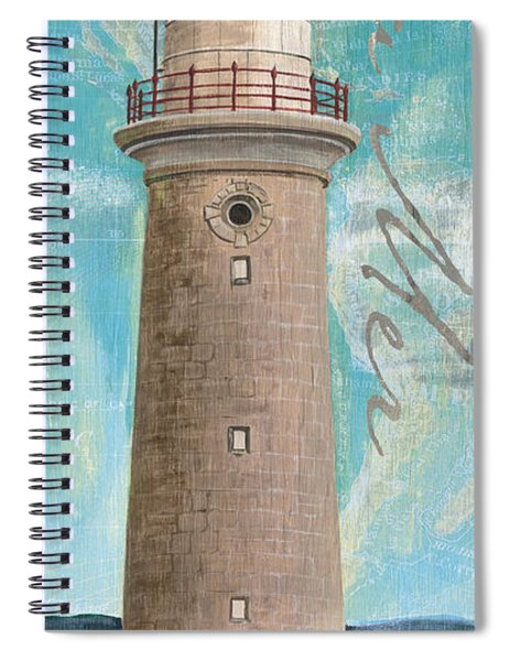 La Mer Lighthouse Spiral Notebook
